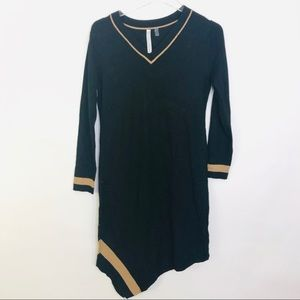 🌴 NY Collection Assymetrical Sweater Dress Size S